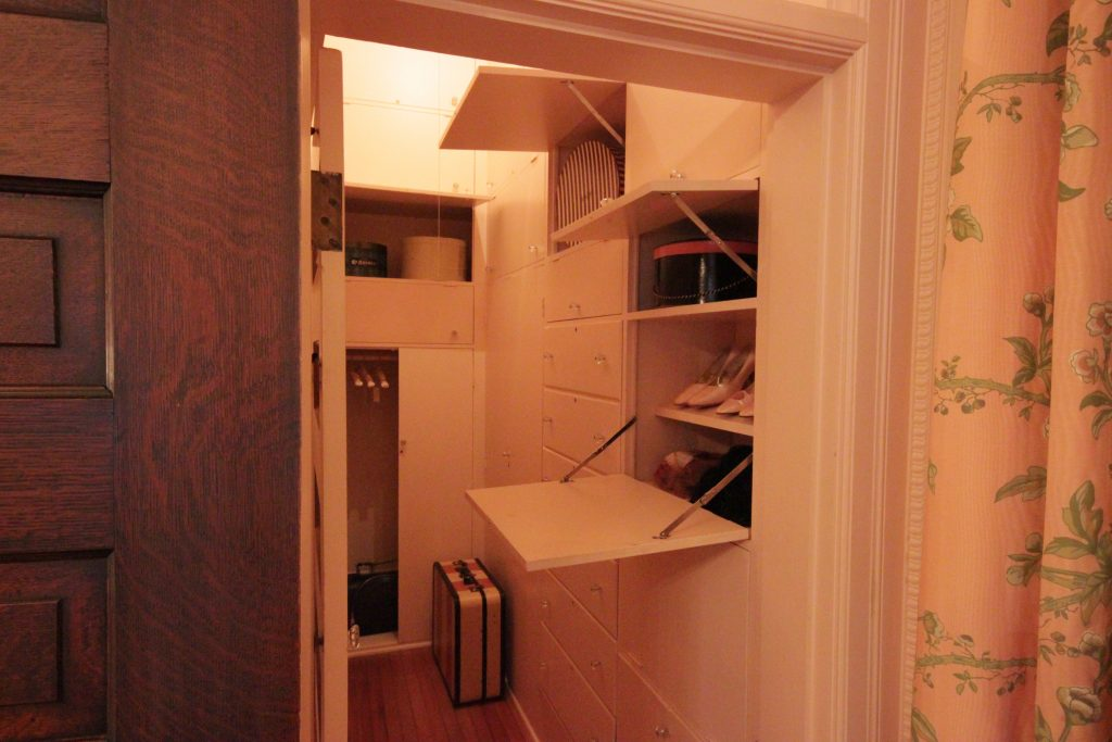 The Closet in the Pink Bedroom