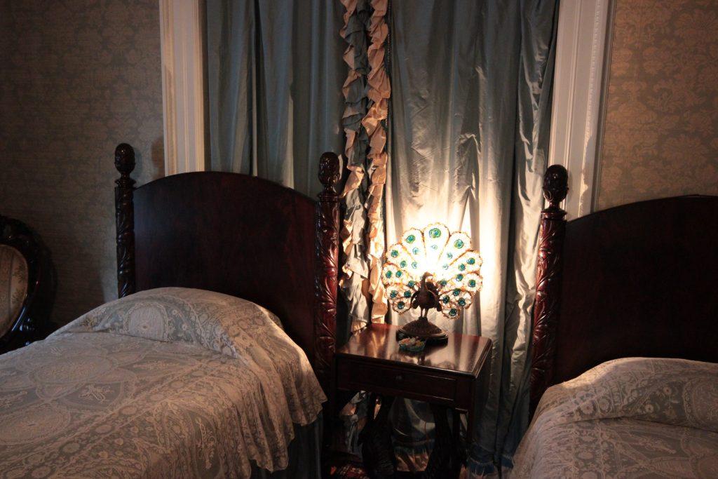Blue Bedroom Details