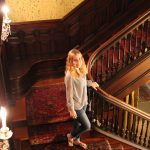 Hannah on Staircase cropped